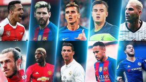 The best footballers in the world!